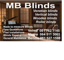 MB Blinds window blinds for all.