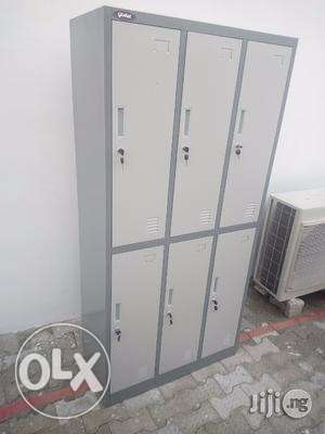 six office workers locker cabinet Ikeja - image 1