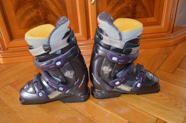 Buty narciarskie Salomon Symbio rozm. 38 39 NOWE (24 24.5