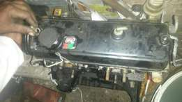 Toyota tazz complete front