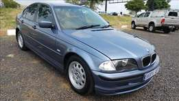 BMW 318i, 3Series, A/M,Trade-in welcome R64,900, Km189501, 2000Model