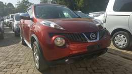 Super clean Nissan Juke 1500cc,wine red 2010 model fully loaded