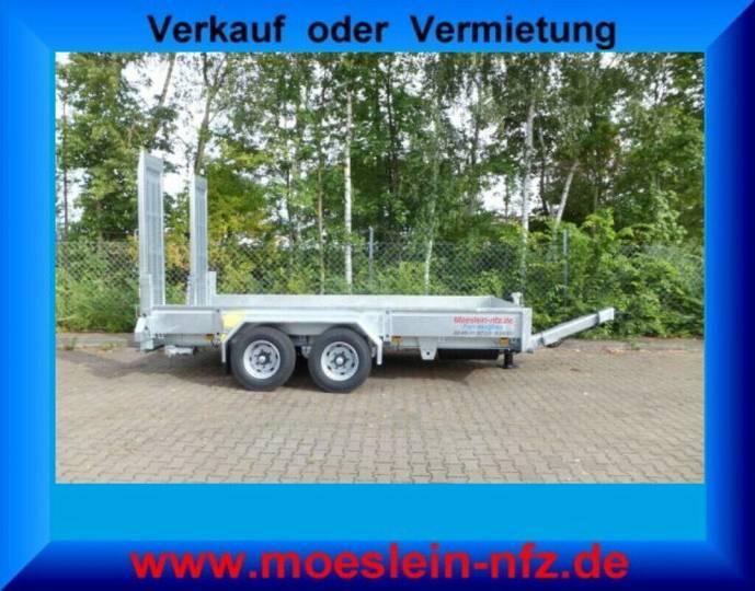 Möslein TT 11-E5x2 Tandemtieflader, Feuerverzinkt - 2019