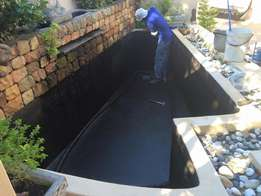 Pond and water feature repairs, buildings, services