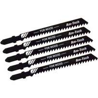 Amtech 5 pcs wood jigsaw blade set