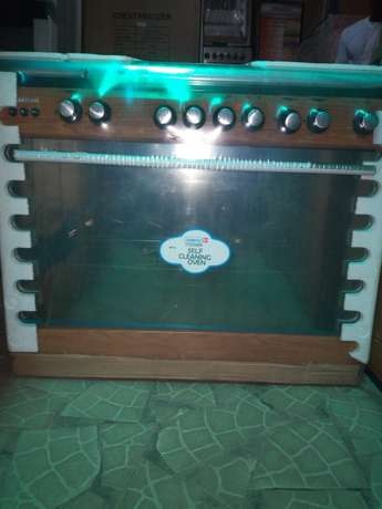 Brand new SCANFROST 6 burners gas cooker with oven Lagos Mainland - image 3