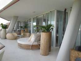 3 Bedroom Luxurious Sea Front Penthouse in Malindi