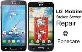 Lg smartphone original batteries and lcds