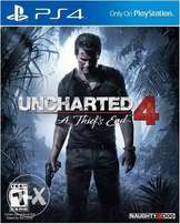 Uncharted 4 Used