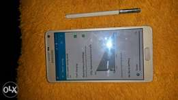 A very clean Samsung Galaxy Gold Note 4 give away Points