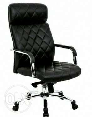Luxurious pure leather office chair Lekki - image 1
