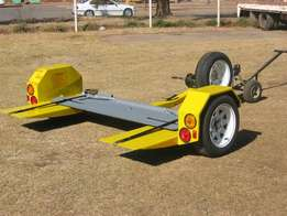 Easy operated cartow trailer