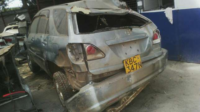 Salvage Toyota harrier Industrial Area - image 7