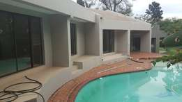 large house in central Fourways very secure