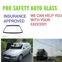 Insurance approved windscreen replacement