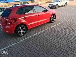 Polo 1.6 manual,Red