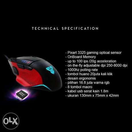 Fantech X11 DAREDEVIL Gaming Mouse دكوانة -  8