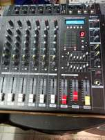 Max 6channel powered mixer