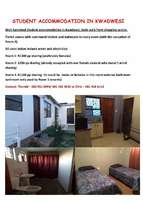 Student Accommodation in KwaDwesi