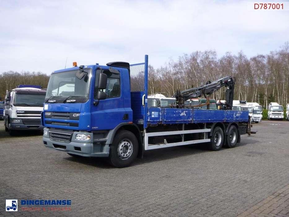 DAF CF 75.310 6x2 RHD + Terex TLC 120 2E-A2 - 2007