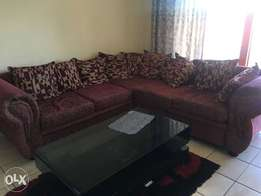 Couch,tv and coffee stand for sale urgently