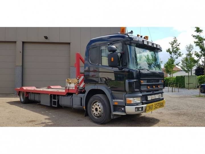 Scania boat transport - 2001