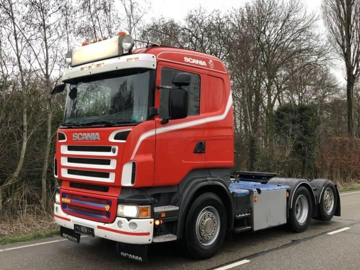 Scania R500 hydraulic euro5 cr19 6x2*4 sleper - 2009