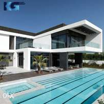 Mansion for sale in Dubai in District 1 with terrace and pool and gym