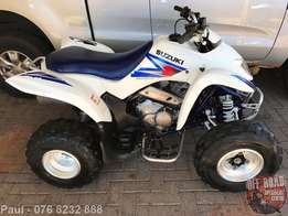 2006 Suzuki LTZ 250 = Honda trx fourtrax yamaha big bear grizzly 250