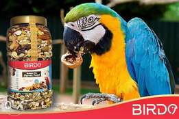 Nuts for parrots