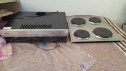 DEFY stove top and extractor