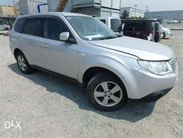 Subaru Forester Year 2010 Model Automatic 4WD Silver KCN Ksh 1.67M