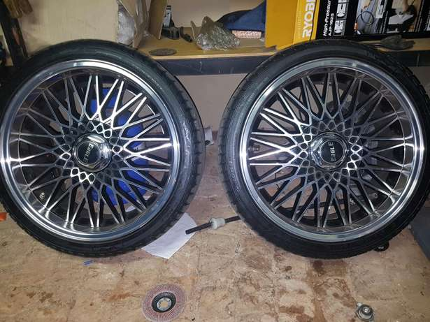 Eagle Mags and new tyres 17 inch Kolonade - image 3