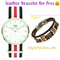 On offer mens watch + free bracelet