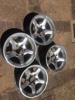 16 inch 6 hole bakkie mags rims