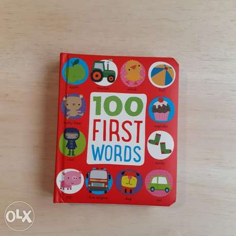 100 First Words Book.
