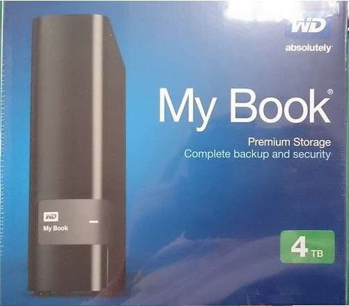 New WD_My Book 4TB USB 3.0 External Hard Nairobi CBD - image 1