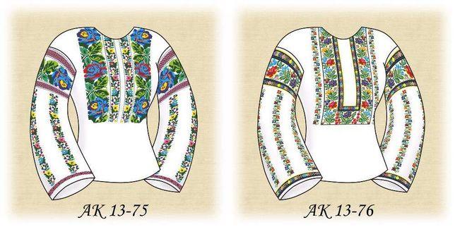 Набори заготовок для вишивки бісером жіночої сорочки (10 моделей) Львів -  зображення 4 f6f89e66e529d