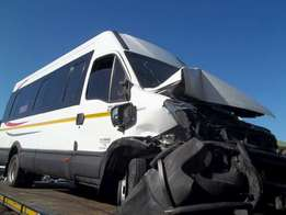 2013 Iveco 50C15 22 Seater accident damaged for sale