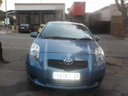 2008 Automatic Blue Toyota Yaris T3 Hatch for sale