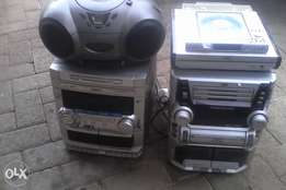 Variety of radio's for sale