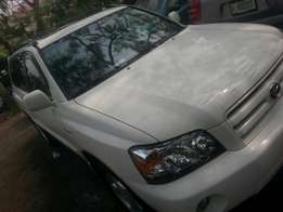 Tincan cleared tokunbo toyota highlander 2006 fuloption