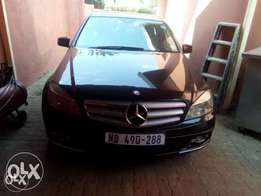 Mercedes- Benz C-class C300 is in good condition new tyres
