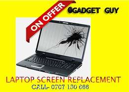 Laptop Screen Replacement ,15 minutes service
