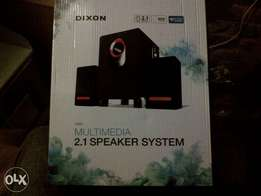 Dixon multimedia speaker system 2.1 for sale