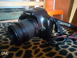 A very clean canon 1100D rebel t3i wit an 35-80mm lens.Comes wit ba3
