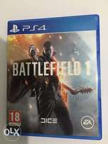 PS4 Games/Game; Battlefield 1, GTA V, The Division
