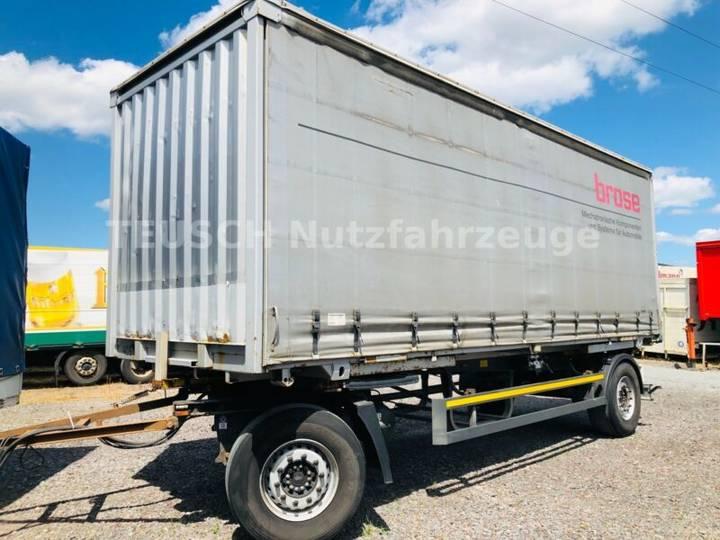 Schmitz Cargobull Lafette + Pritsche mit Schiebegardine - 2011