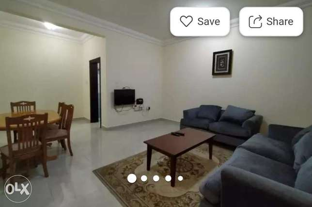 Fully Furnished 2 Bhk Flat With 2 Full bathrooms !