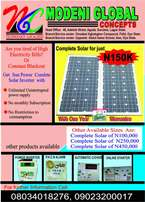 Complete solar inverters for sale at modeni global concept.